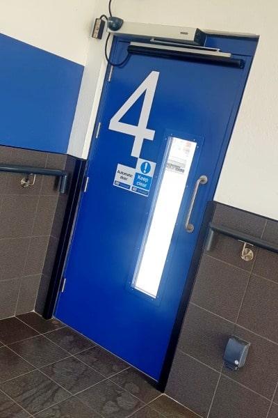 Swing Door Installation in the UK
